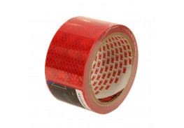 Лента светоотражающая 3M 983-72, алмазного типа, красная, 53,5 мм х 5 м