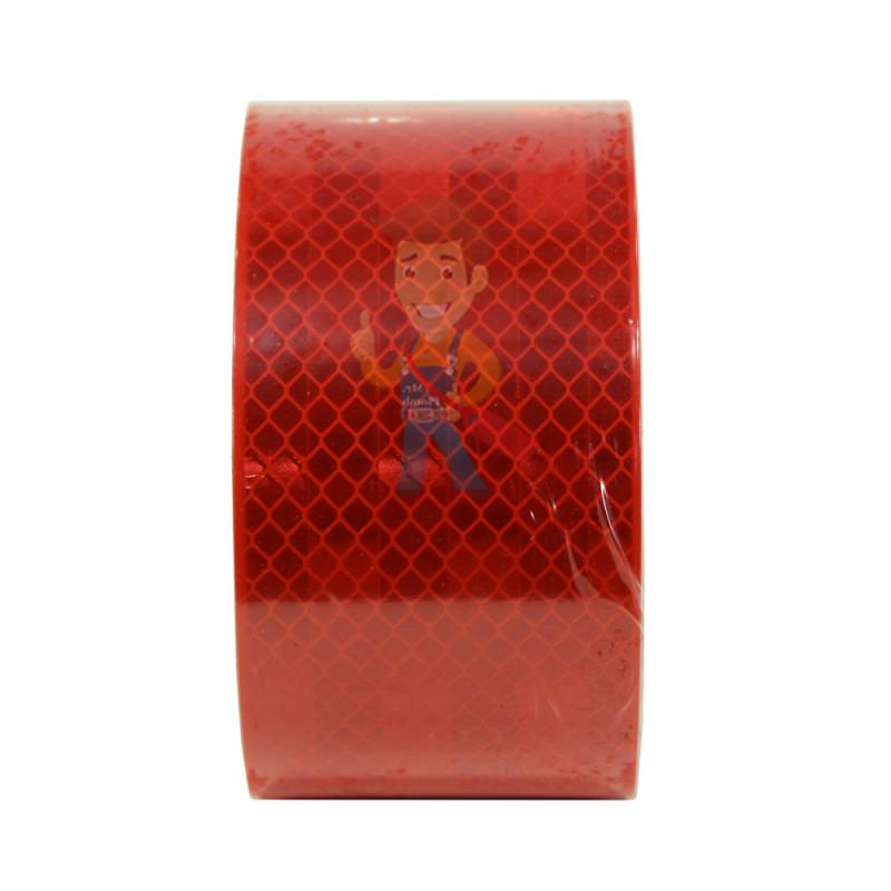Лента светоотражающая 3M 983-72, алмазного типа, красная, 53,5 мм х 5 м - фото 2