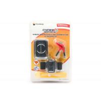 Гайка М10 шестигранная оцинкованная ГОСТ 5915-70 (DIN 934) Forceberg Home&DIY, 10 шт - Набор магнитных инструментов из 4 предметов Forceberg