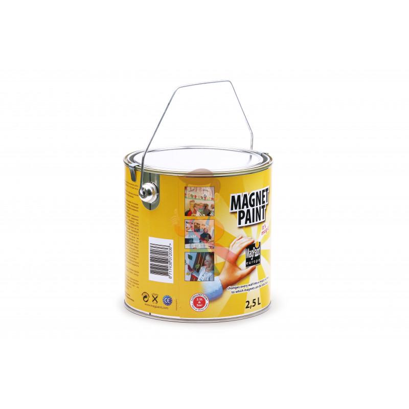 Магнитная краска MagPaint 2,5 литра, на 5 м² - фото 1