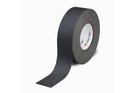 Лента противоскользящая средней зернистости, черная, 25,4 мм х 18,3 м