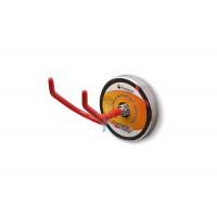 Крючки на неодимовом магните Forceberg Е25, сила сц. 15 кг, 2 шт. - V-образный магнитный держатель, Forceberg