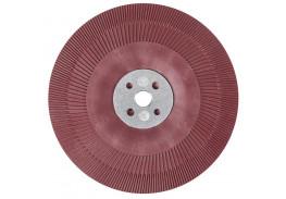 Оправка для фибровых кругов, 180 мм х 22 мм, ребристая M14 и 5/8