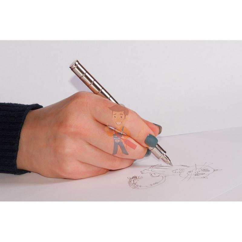Магнитная ручка Forceberg, серебряная - фото 8