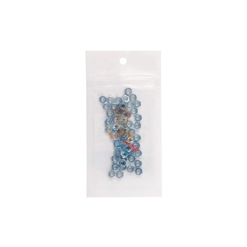 Гайка М4 шестигранная оцинкованная ГОСТ 5915-70 (DIN 934) Forceberg Home&DIY, 50 шт - фото 4