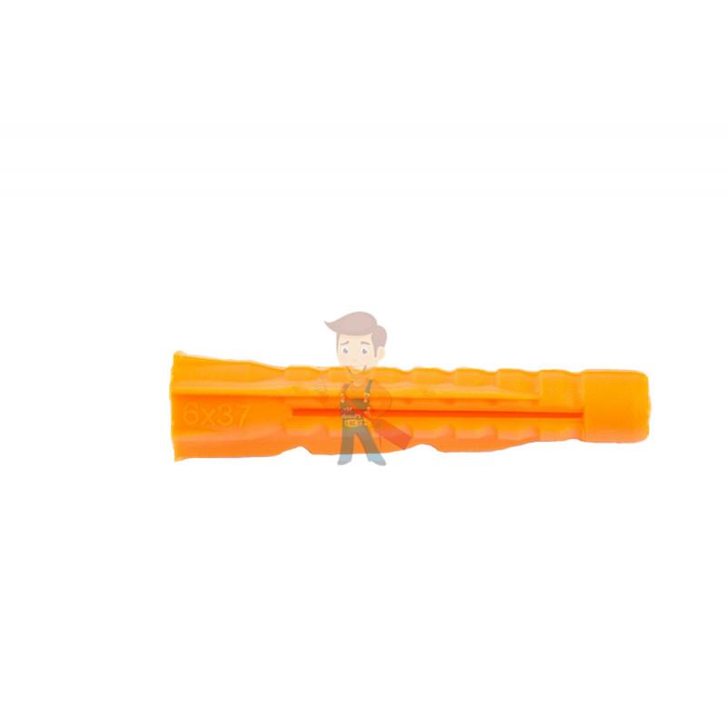 Дюбель универсальный Forceberg Home&DIY (тип U) 6х37 мм, для кирпича, газобетона, гипсокартона, 35 шт - фото 1