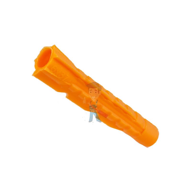 Дюбель универсальный Forceberg Home&DIY (тип U) 6х37 мм, для кирпича, газобетона, гипсокартона, 35 шт