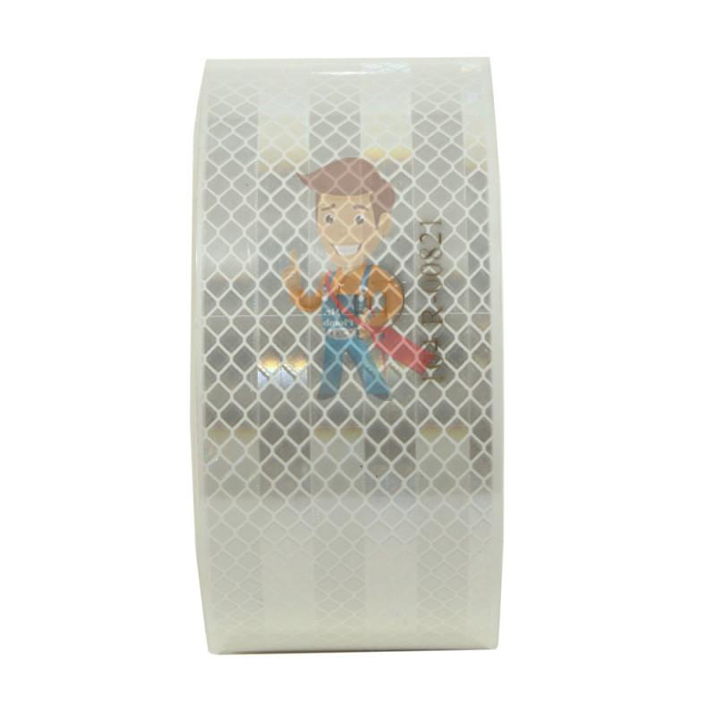 Лента светоотражающая 3M 983-10, алмазного типа, белая, 53,5 мм х 10 м - фото 3