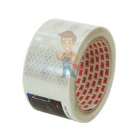 Лента светоотражающая 3M 983-72, алмазного типа, красная, 53,5 мм х 5 м - Лента светоотражающая 3M 983-10, алмазного типа, белая, 53,5 мм х 5 м
