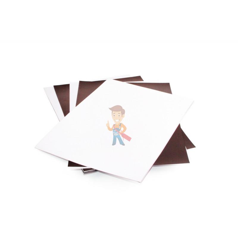 Магнитная бумага А4 глянцевая Forceberg 5 листов - фото 1