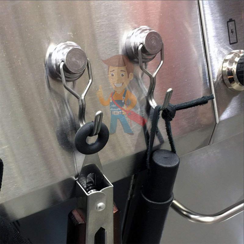 Магнитное крепление с поворотным крючком 36 мм - фото 7