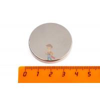 Индикатор магнитного поля, пленка - Неодимовый магнит диск 35х5 мм