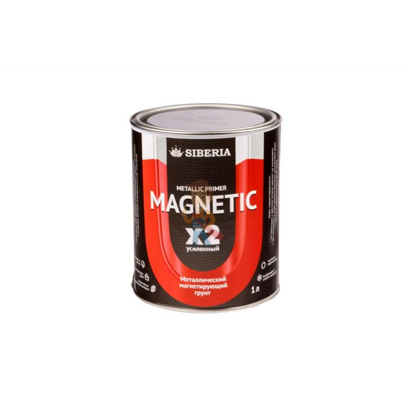 Магнитная краска Siberia 1 литр, на 2 м²