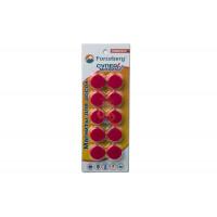 Магнит для магнитной доски FORCEBERG 20 мм, синий, 10шт. - Магнит для магнитной доски FORCEBERG 20 мм, красный, 10шт.