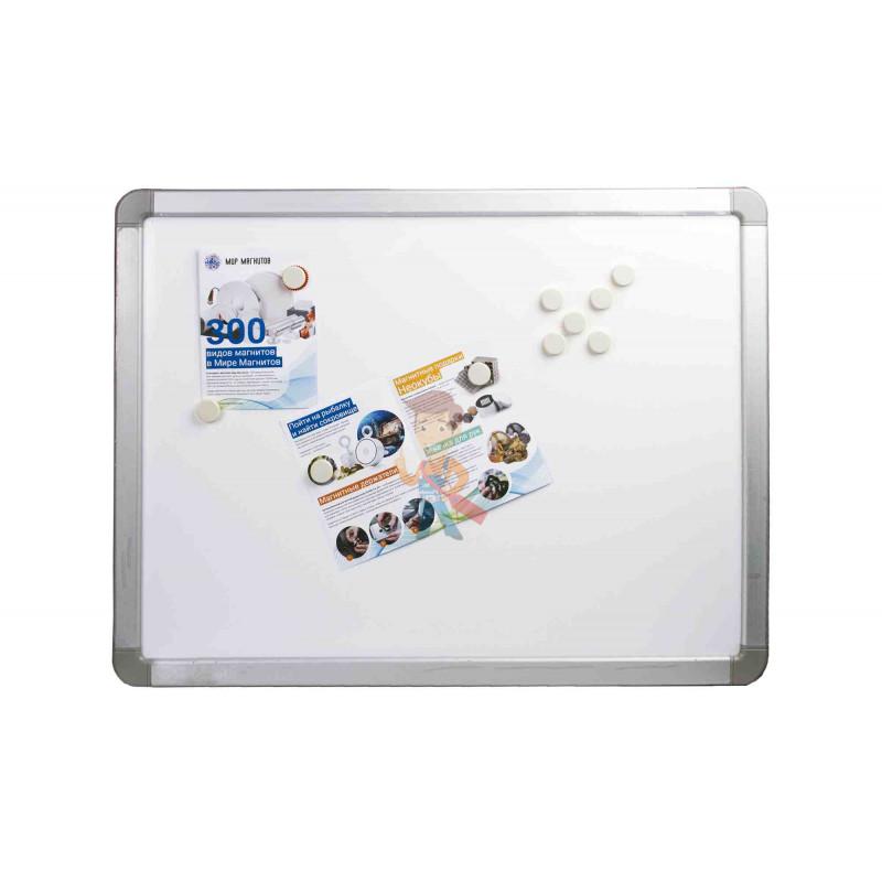 Магнит для магнитной доски FORCEBERG 20 мм, белый, 10шт. - фото 4