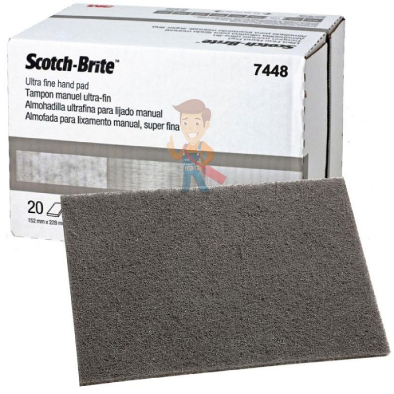 Лист шлифовальный для чистовой обработки поверхности S UFN светло-серый 158 мм х 224мм - фото 4