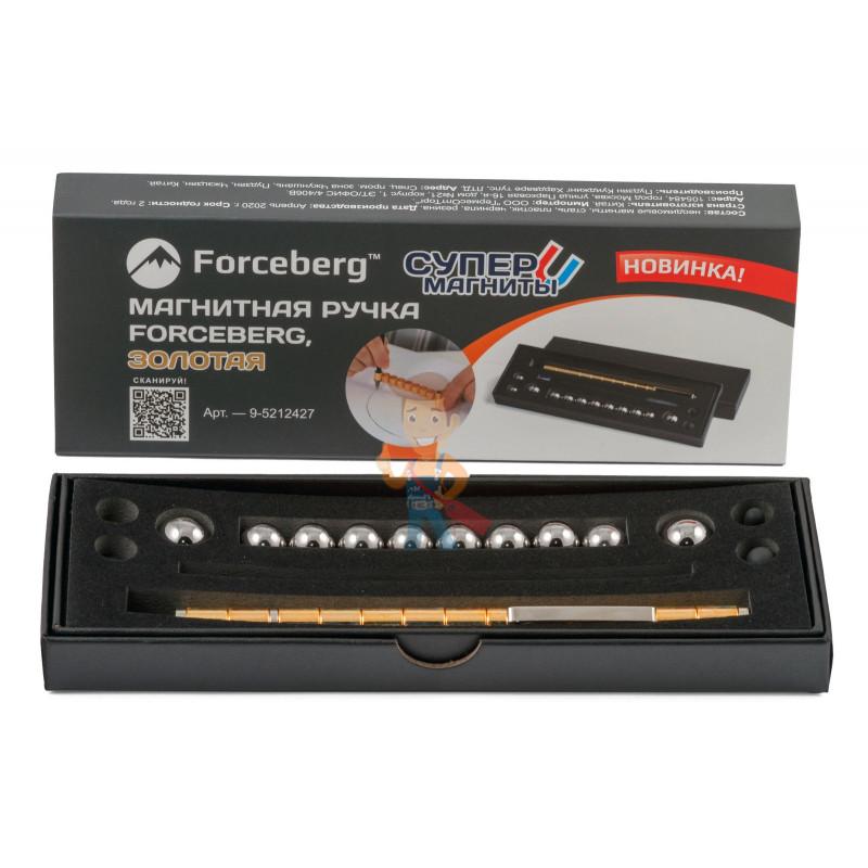 Магнитная ручка Forceberg, золотая - фото 5