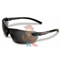 Комплект из 2 батареек для сварочного щитка - Открытые защитные очки, серые, с покрытием AS/AF против царапин и запотевания