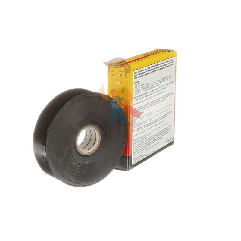 Изолента самослипающаяся резиновая Scotch® 130C, 25 мм х 9,1 м - фото 9