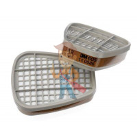 Адаптер для фильтров 5911, 5925, 5935, 2 шт/уп - Фильтр для защиты от газов и паров 3M™ 6055, A2, 1 пара