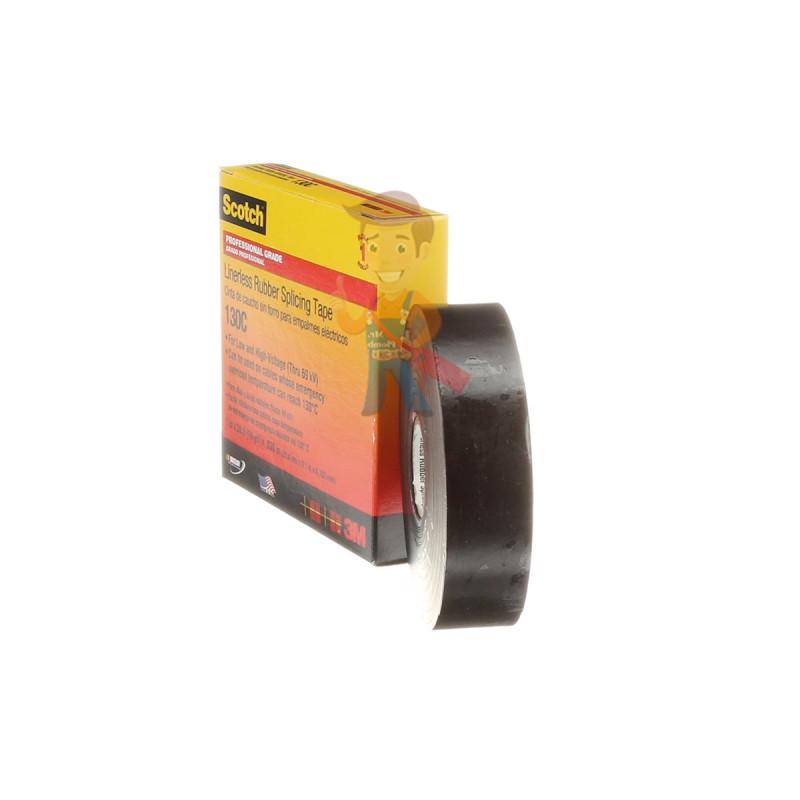 Изолента самослипающаяся резиновая Scotch® 130C, 25 мм х 9,1 м - фото 5