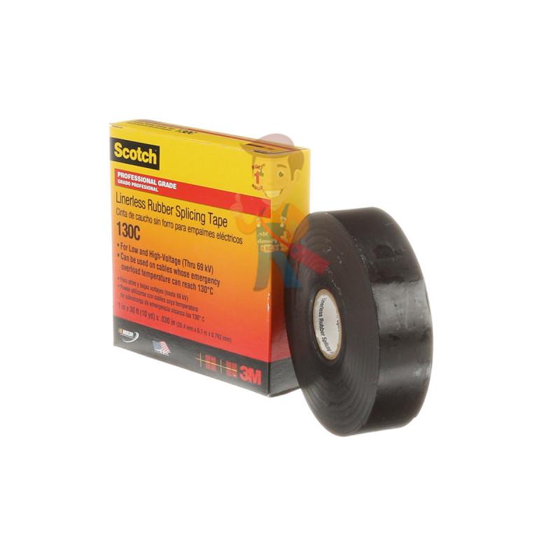 Изолента самослипающаяся резиновая Scotch® 130C, 25 мм х 9,1 м - фото 4