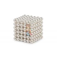 Forceberg Cube - куб из магнитных шариков 6 мм, синий, 216 элементов - Forceberg Cube - куб из магнитных шариков 6 мм, жемчужный, 216 элементов