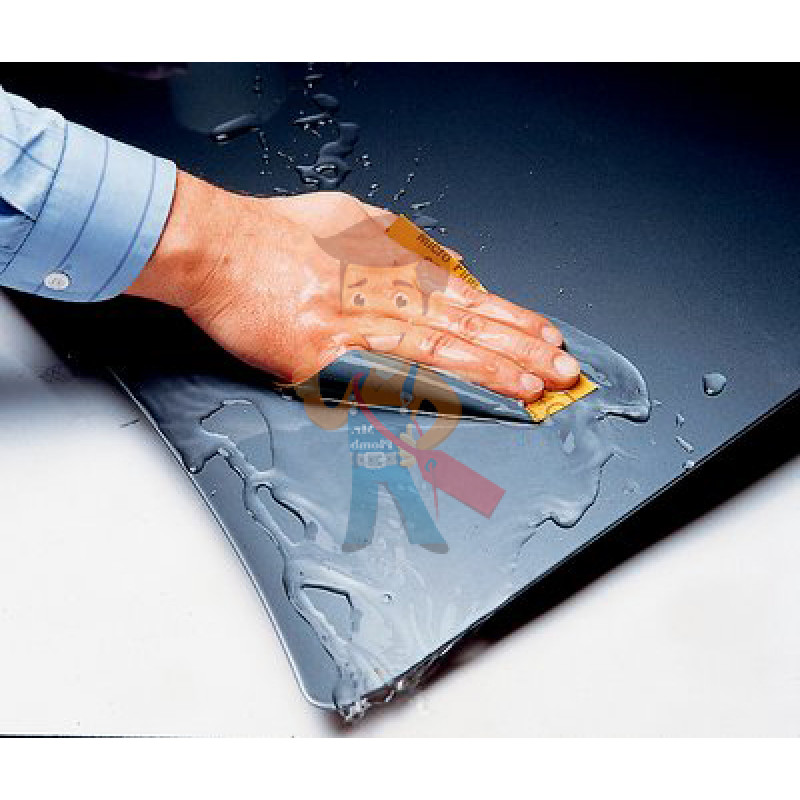 Лист абразивный 401Q, микротонкий, 1500А, 138 мм х 230 мм, Wetordry™ - фото 1