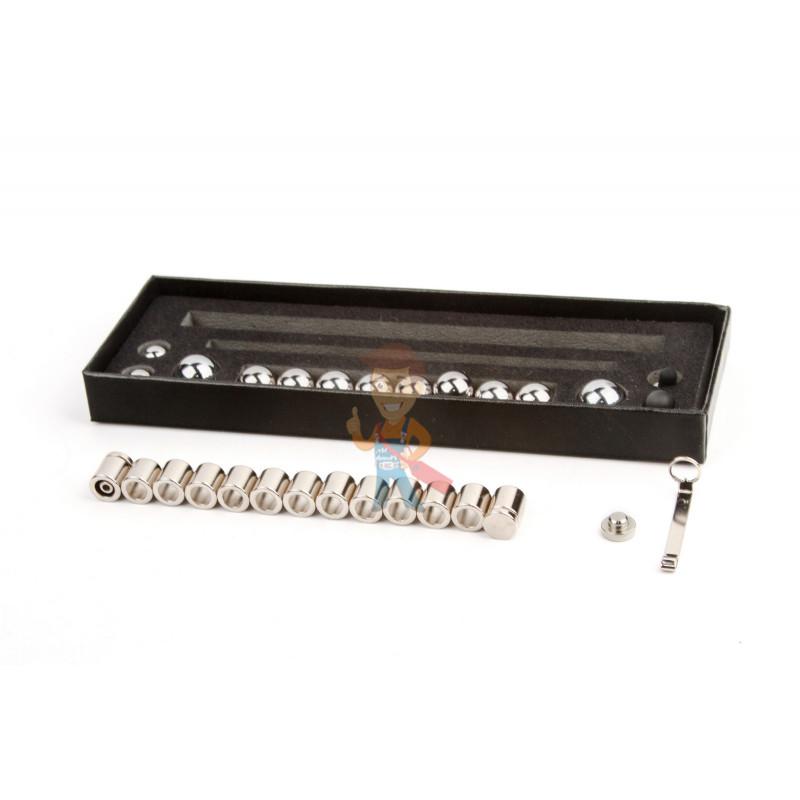 Магнитная ручка Forceberg, серебряная - фото 4