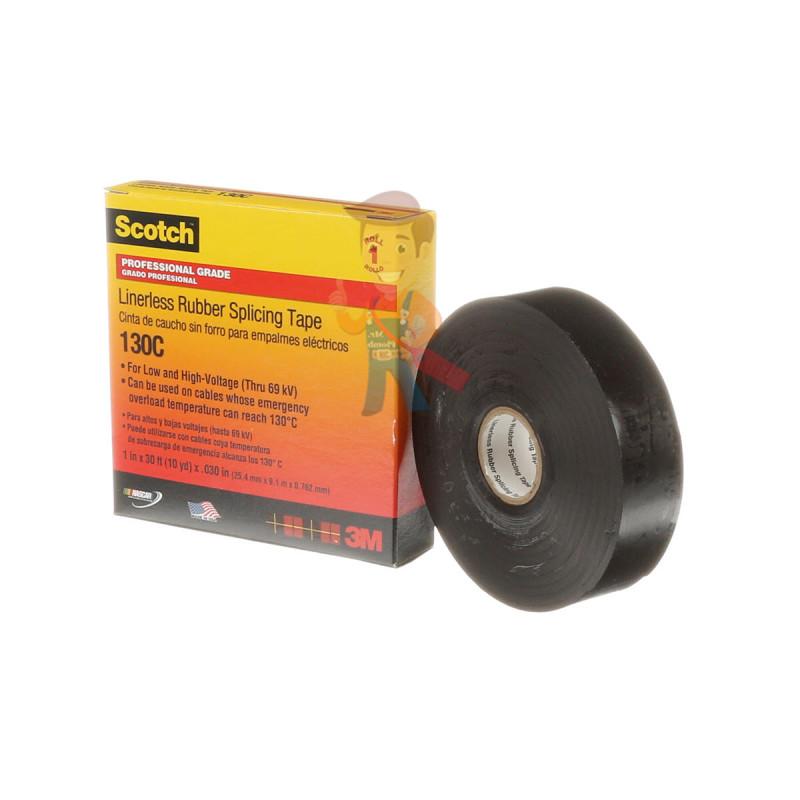 Изолента самослипающаяся резиновая Scotch® 130C, 25 мм х 9,1 м - фото 3