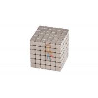Forceberg Cube - куб из магнитных шариков 2,5 мм, оливковый, 512 элементов - Forceberg TetraCube - куб из магнитных кубиков 5 мм, стальной, 216 элементов