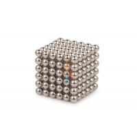 Forceberg Cube - куб из магнитных шариков 6 мм, жемчужный, 216 элементов - Forceberg Cube - куб из магнитных шариков 7 мм, стальной, 216 элементов