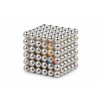 Forceberg Cube - куб из магнитных шариков 6 мм, белый, 216 элементов - Forceberg Cube - куб из магнитных шариков 5 мм, жемчужный, 216 элементов