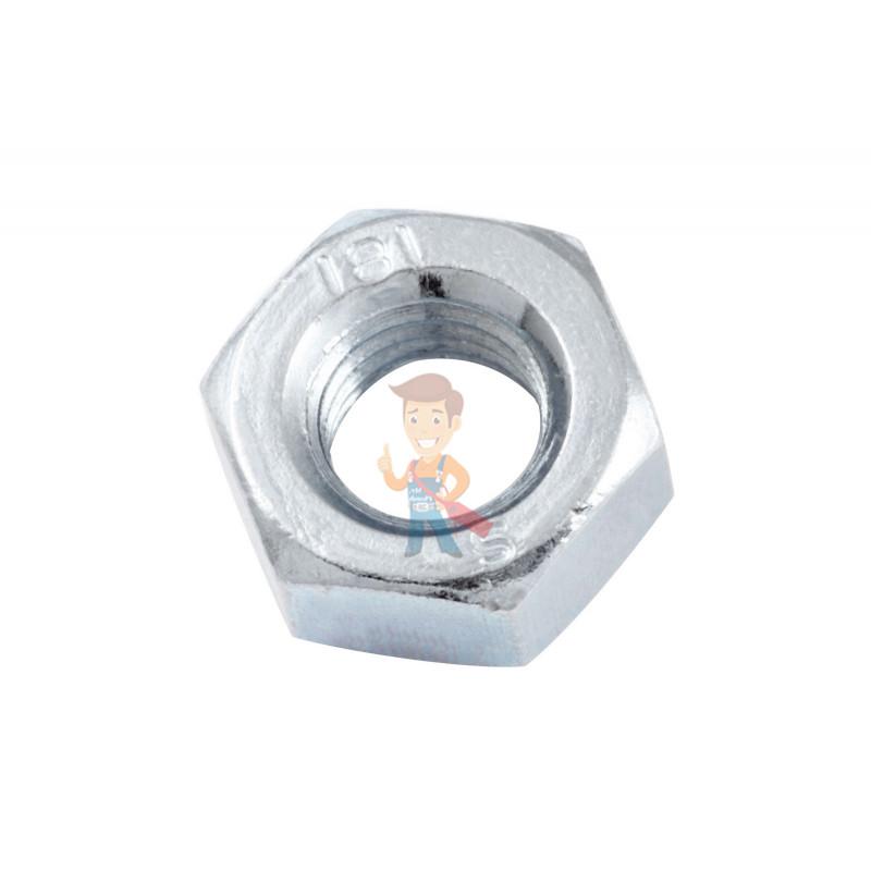 Гайка М8 шестигранная оцинкованная ГОСТ 5915-70 (DIN 934) Forceberg Home&DIY, 20 шт - фото 1