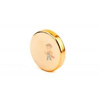 Клей Poxipol прозрачный, 70 мл - Неодимовый магнит диск 8х1.5 мм, золотой