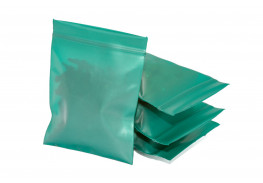 Упаковочные цветные зип пакеты Forceberg HOME & DIY с замком zip-lock 6х7 см, зеленый, 50 шт