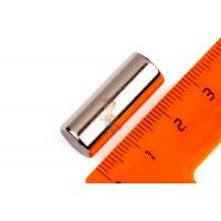 Магнитное крепление с отверстием В75 - Неодимовый магнит пруток 10х25 мм, N52