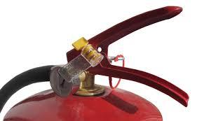 Роторные пломбы для опломбирования огнетушителя