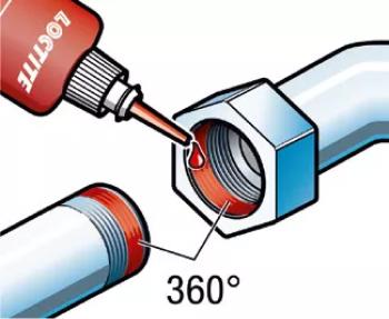 Loctite 577 резьбовой герметик