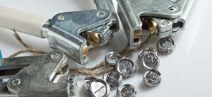 Пломбираторы для свинцовых пломб с гравировкой, опломбирование